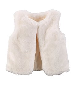 Carter's® Girls' 2T-8 Faux Fur Vest