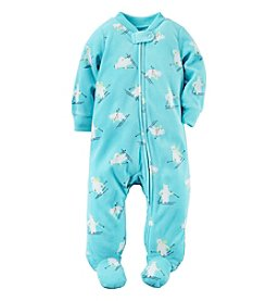 Carter's® Baby Boys' Skiing Polar Bear Footie