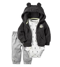 Carter's® Baby Boys' 3-Piece Penguin Hoodie Set