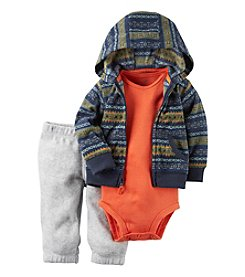 Carter's® Baby Boys' 3-Piece Geo Hoodie Set