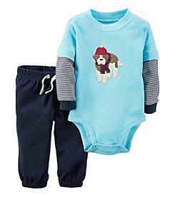 Carter's® Baby Boys' 2-Piece St. Bernard Bodysuit Set