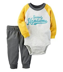 Carter's® Baby Boys' 2-Piece Seriously Handsome Bodysuit Set