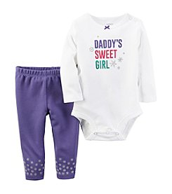 Carter's® Baby Girls' 2-Piece Sweet Girl Bodysuit Set