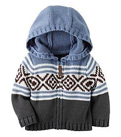 Carter's® Baby Boys' Geo Sweater Hoodie