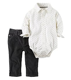 Carter's® Baby Boys' 2-Piece Collared Bodysuit Set
