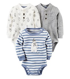 Carter's® Baby Boys' 3-Pack Polar Bear Bodysuits