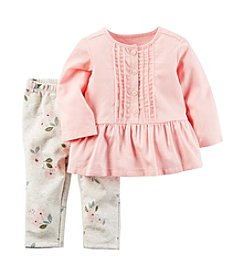 Carter's® Baby Girls' 2-Piece Peplum Tunic Set