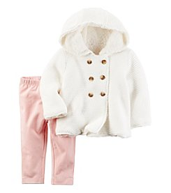 Carter's® Baby Girls' 2-Piece Sweater Coat Set
