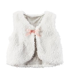 Carter's® Baby Girls' Sherpa Bow Vest