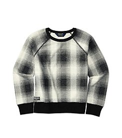 Polo Ralph Lauren® Girls' 7-16 Plaid Sweatshirt