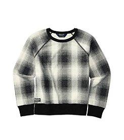 Polo Ralph Lauren® Girls' 7-16 Plaid Sweatshirt