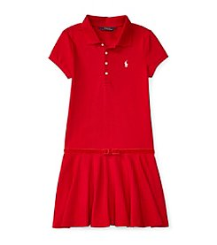 Polo Ralph Lauren® Girls' 7-16 Short Sleeve Polo Dress