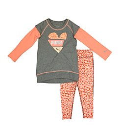 PUMA® Girls' 2T-4T 2-Piece Animal Printed Track Set