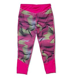 PUMA® Girls' 4-6X Printed Capri Leggings
