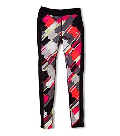 PUMA® Girls' 2T-6X Painterly Checkered Leggings