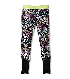 PUMA® Girls' 2T-6X Cheetah Printed Leggings