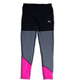 PUMA® Girls' 7-16 Colorblock Leggings