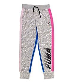 PUMA® Girls' 7-16 Colorblock Joggers