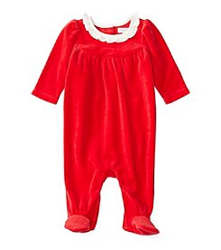 Ralph Lauren® Baby Girls' Ruffle Collar Coverall
