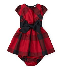 Ralph Lauren® Baby Girls' Plaid Fit and Flare Dress