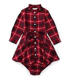Ralph Lauren® Baby Girls' Plaid Shirt Dress