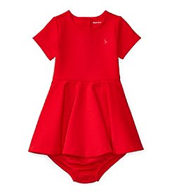 Ralph Lauren® Baby Girls' Ponte Dress