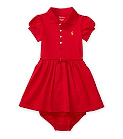 Ralph Lauren® Baby Girls' Short Sleeve Polo Dress