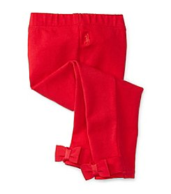 Ralph Lauren® Baby Girls' Bow Back Leggings