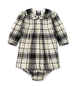 Ralph Lauren® Baby Girls' Plaid Pintuck Dress