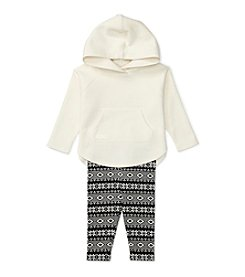 Ralph Lauren® Baby Girls' 2-Piece Hoodie and Fair Isle Leggings Set