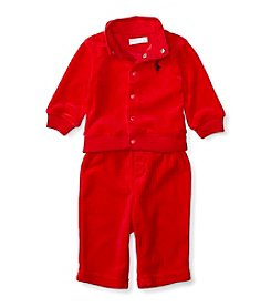 Ralph Lauren® Baby Boys 2-Piece Hook Up Set