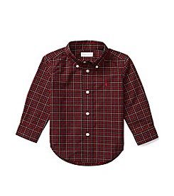 Ralph Lauren® Baby Boys' Plaid Buttondown Shirt