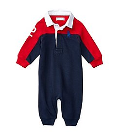 Ralph Lauren® Baby Boys' Colorblock Coverall
