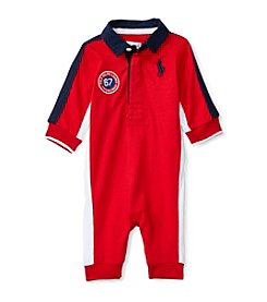 Ralph Lauren® Baby Boys' Rugby Coverall