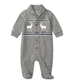Ralph Lauren® Baby Boys Shawl Collar Coverall