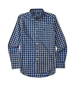 Polo Ralph Lauren® Boys' 8-20 Long Sleeve Checked Twill Shirt