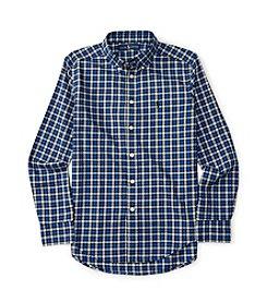 Polo Ralph Lauren® Boys' 8-20 Long Sleeve Checked Twill Shirt