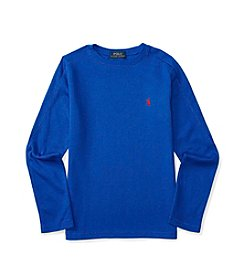 Polo Ralph Lauren® Boys' 8-20 Long Sleeve Waffle Tee