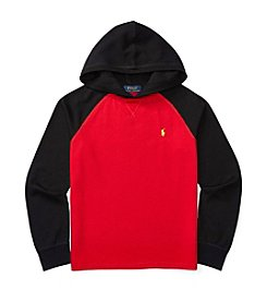 Polo Ralph Lauren® Boys' 8-20 Waffle Pullover Hoodie