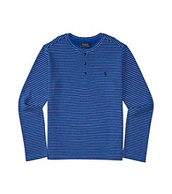 Polo Ralph Lauren® Boys' 8-20 Striped Waffle Henley
