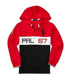 Polo Ralph Lauren® Boys' 8-20 Rugby Pullover Hoodie