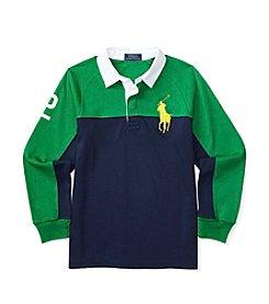 Polo Ralph Lauren® Boys' 8-20 Rugby Raglan Shirt