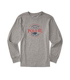 Polo Ralph Lauren® Boys' 8-20 Long Sleeve Graphic Tee