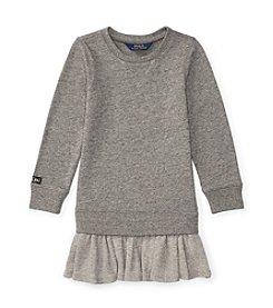 Polo Ralph Lauren® Girls' 2T-6X Sweatshirt Dress