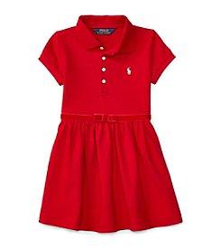Polo Ralph Lauren® Girls' 2T-6X Short Sleeve Polo Dress