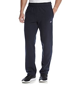 Champion® Men's Fleece Open Bottom Pants