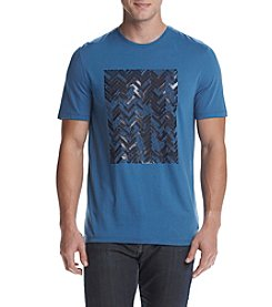 Michael Kors® Men's Short Sleeve Herringbone Tee