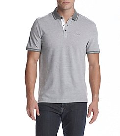 Michael Kors® Men's Long Sleeved Button Interlock Polo