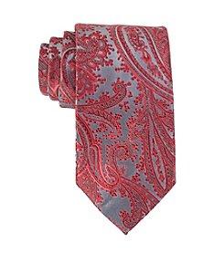 Geoffrey Beene® Platinum Paisley Tie