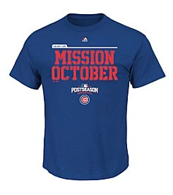 Majestic MLB® Chicago Cubs Men's Mission October Short Sleeve Tee